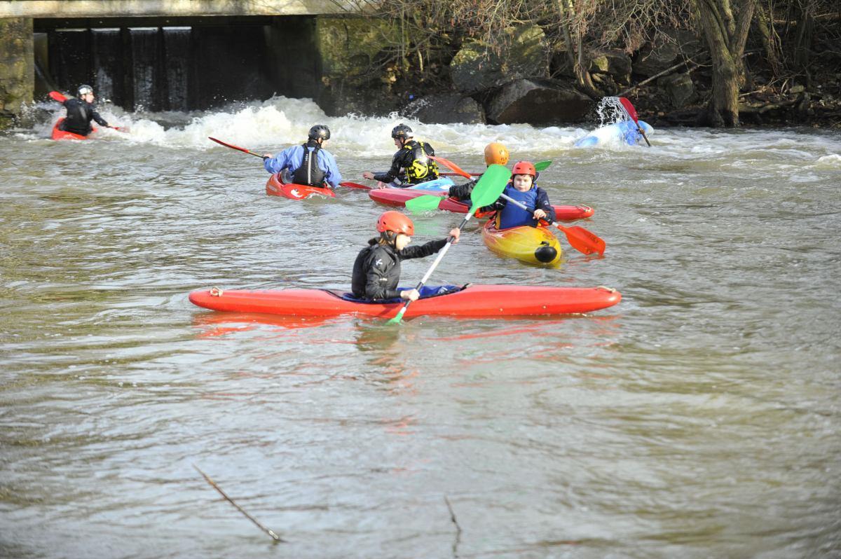 Du kayak au club tout l'été