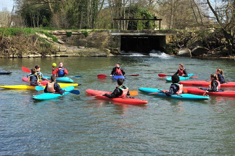 Stage kayak pendant les vacances de Pâques….c'est aussi à la carte