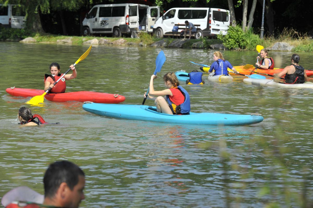 Journées portes ouvertes au club de kayak